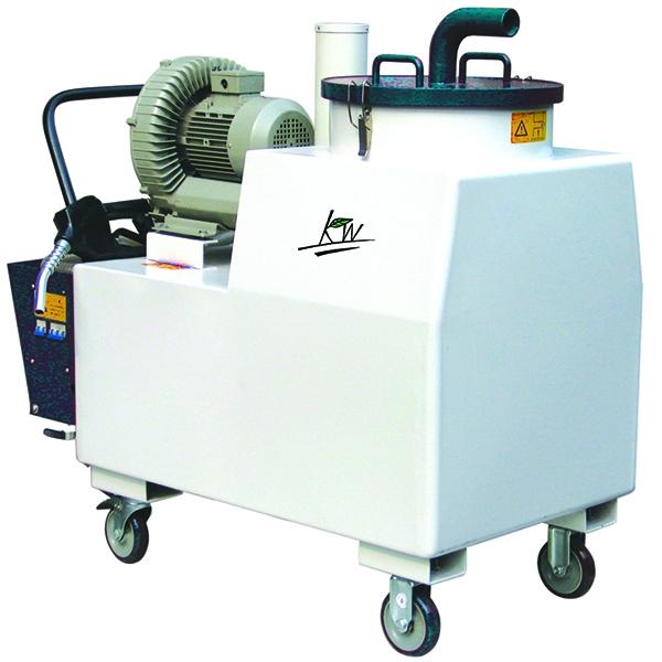 移动液固分离吸尘器